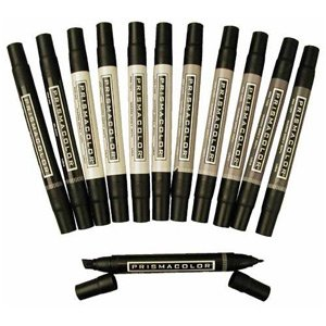 Prismacolor Marker Sets warm gray set of 12