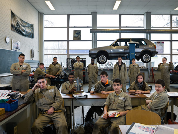 The Netherlands, Rotterdam, Secondary Group 3, Motor Mechanics