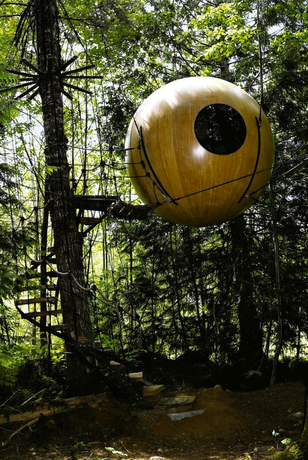 Free Spirit Spheres by Tom Chudleigh – British Columbia, Canada