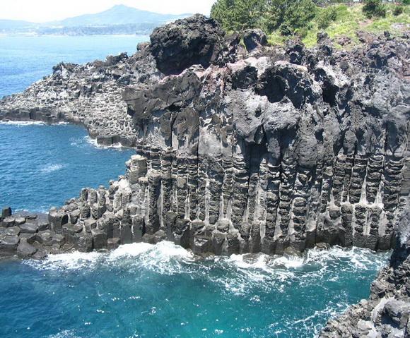 Jusangjeolli Cliffs, South Korea