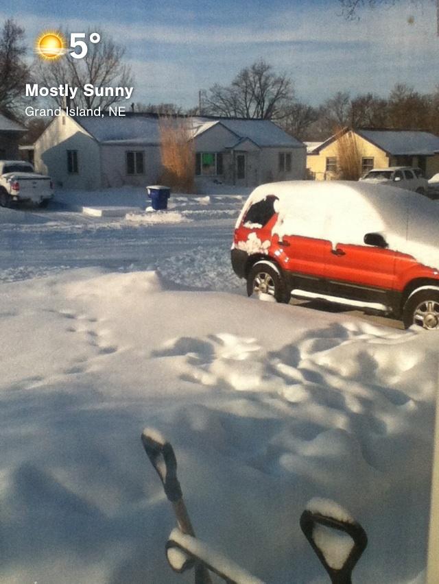 Nebraska Snow Storm by SKYE user Katie Tripp