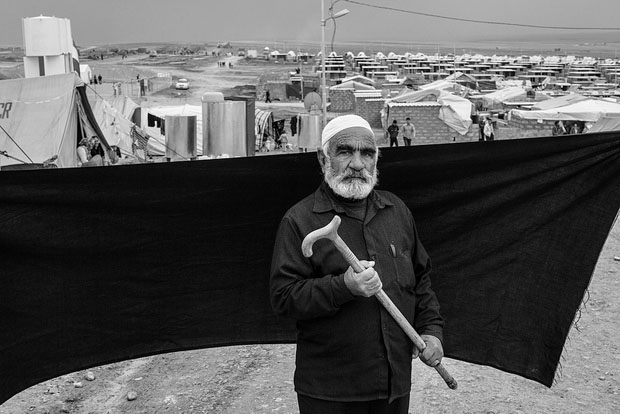 Ahmed, Domiz refugee camp in the Kurdistan Region of Iraq