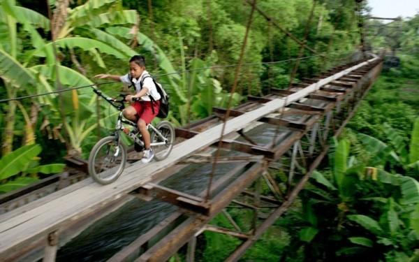 Suro Village and Plempungan Village in Java, Indonesia