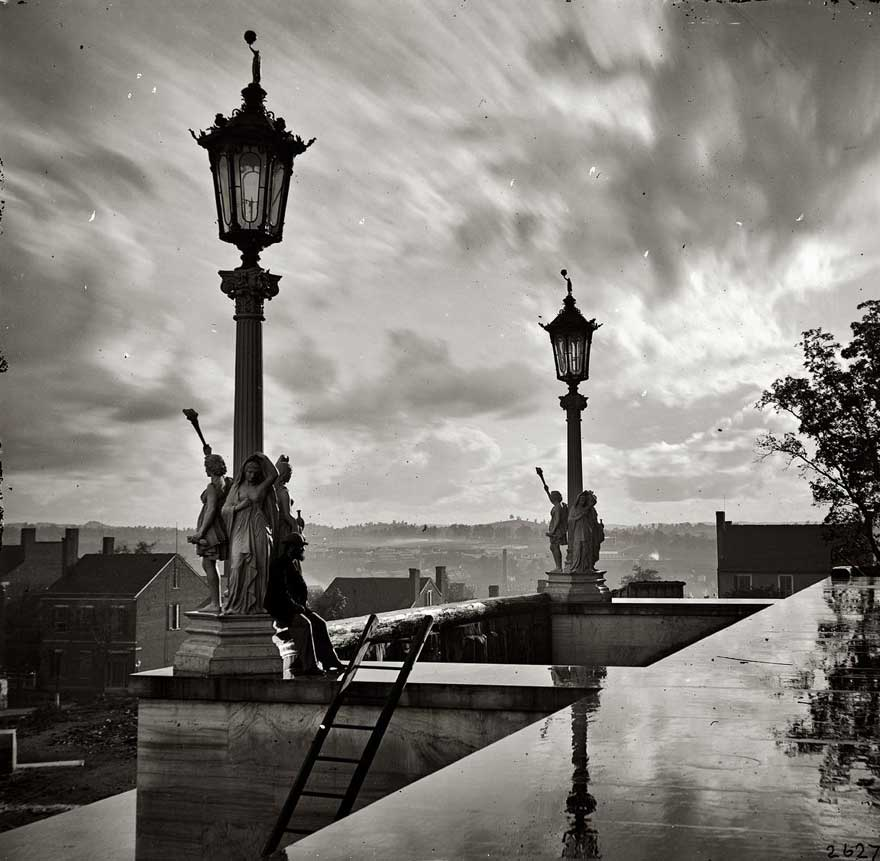 View from Capitol in Nashville, Tennessee During the Civil War, 1864