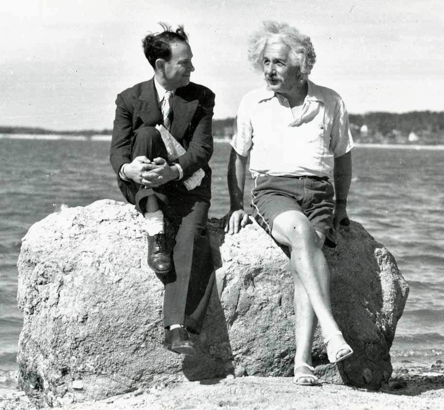 Albert Einstein, Summer 1939 Nassau Point, Long Island, NY
