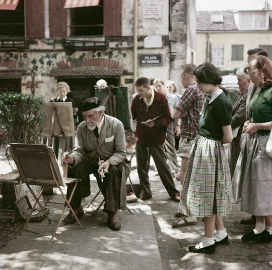 Montmartre, Paris, 1952.