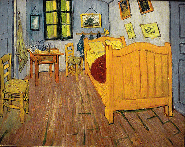 "Vincent Van Gogh ""Bedroom in Arles"""