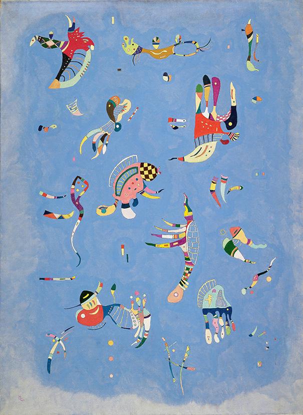 """Wassily Kandinsky """"Sky Blue"""""""