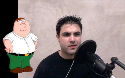 "Family Guy Voices Rap ""Look at Me Now"""
