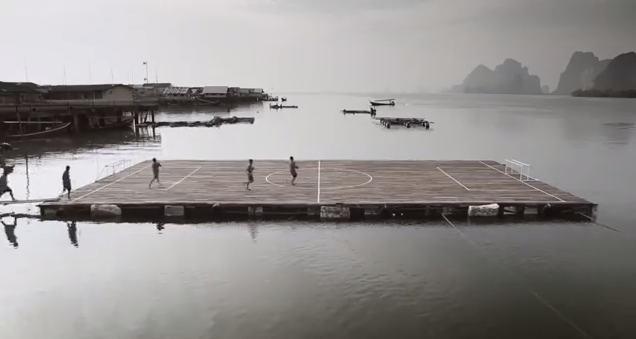 A Floating Football Pitch in Thailand and the Football Club That Built It