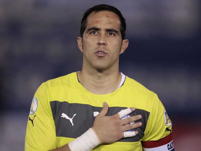 Captain -Claudio Bravo