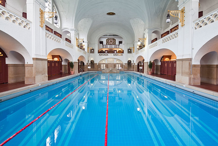 Beautiful Indoor Swimming Pool Photos from Robert Götzfried