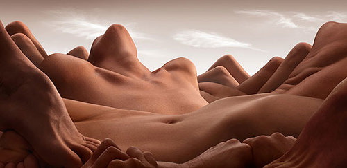 Bodyscapes: Photos by Carl Warner