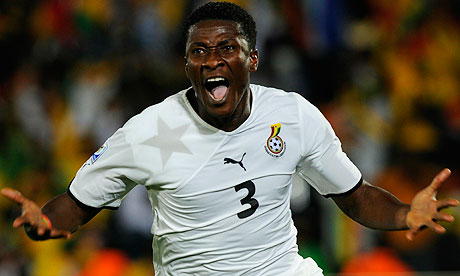 Captain and Top Scorer -  Asamoah Gyan