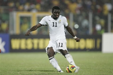 Second Top Scorer -  Sulley Muntari