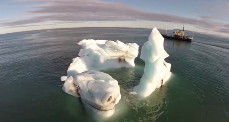 Glorious Drone Video of the High Arctic