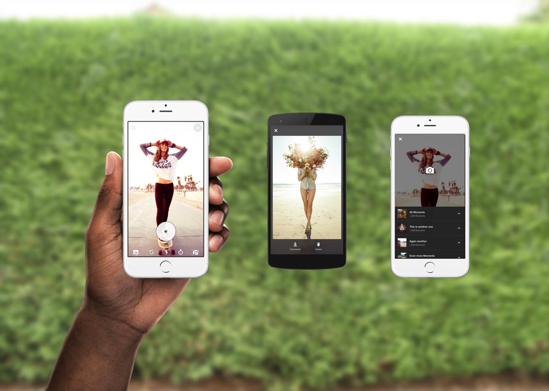 In-app Camera for    Flipagram