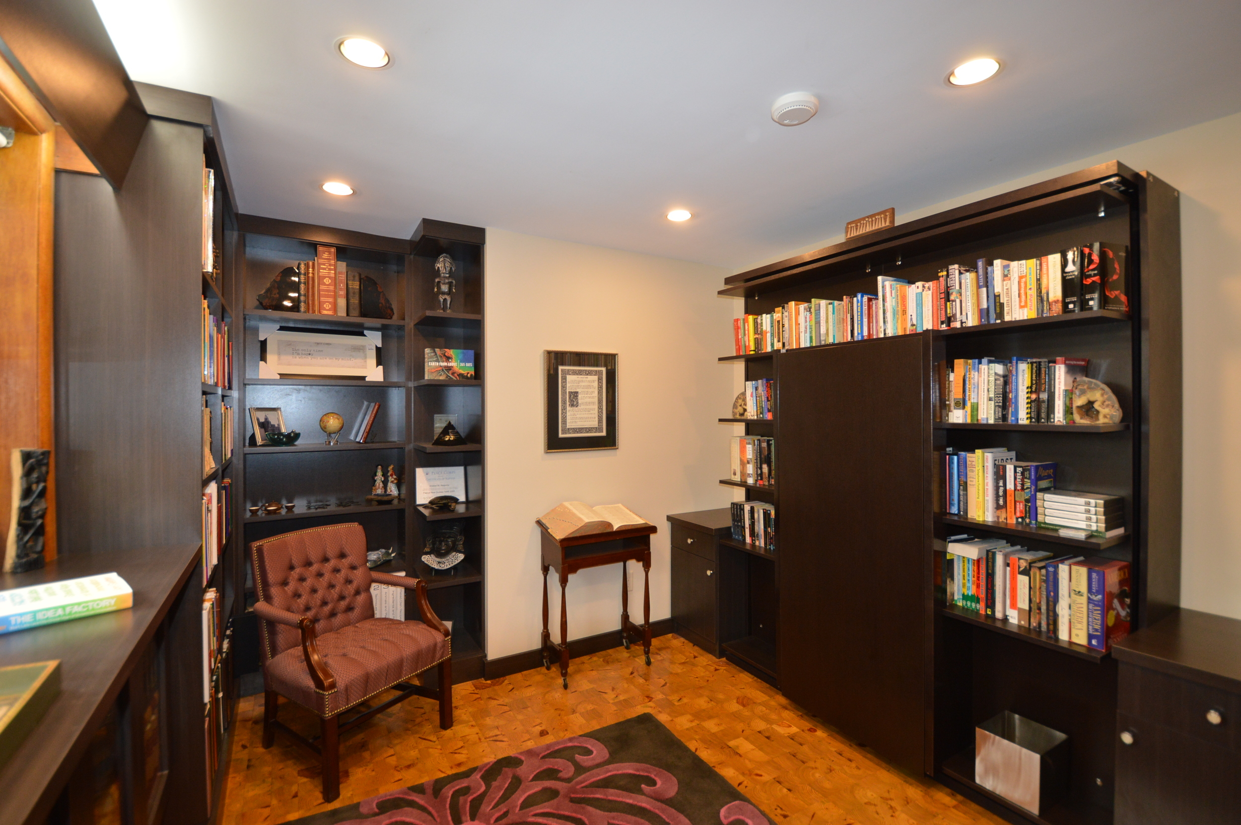 Ambler, PA Custom Office with Murphy Bed