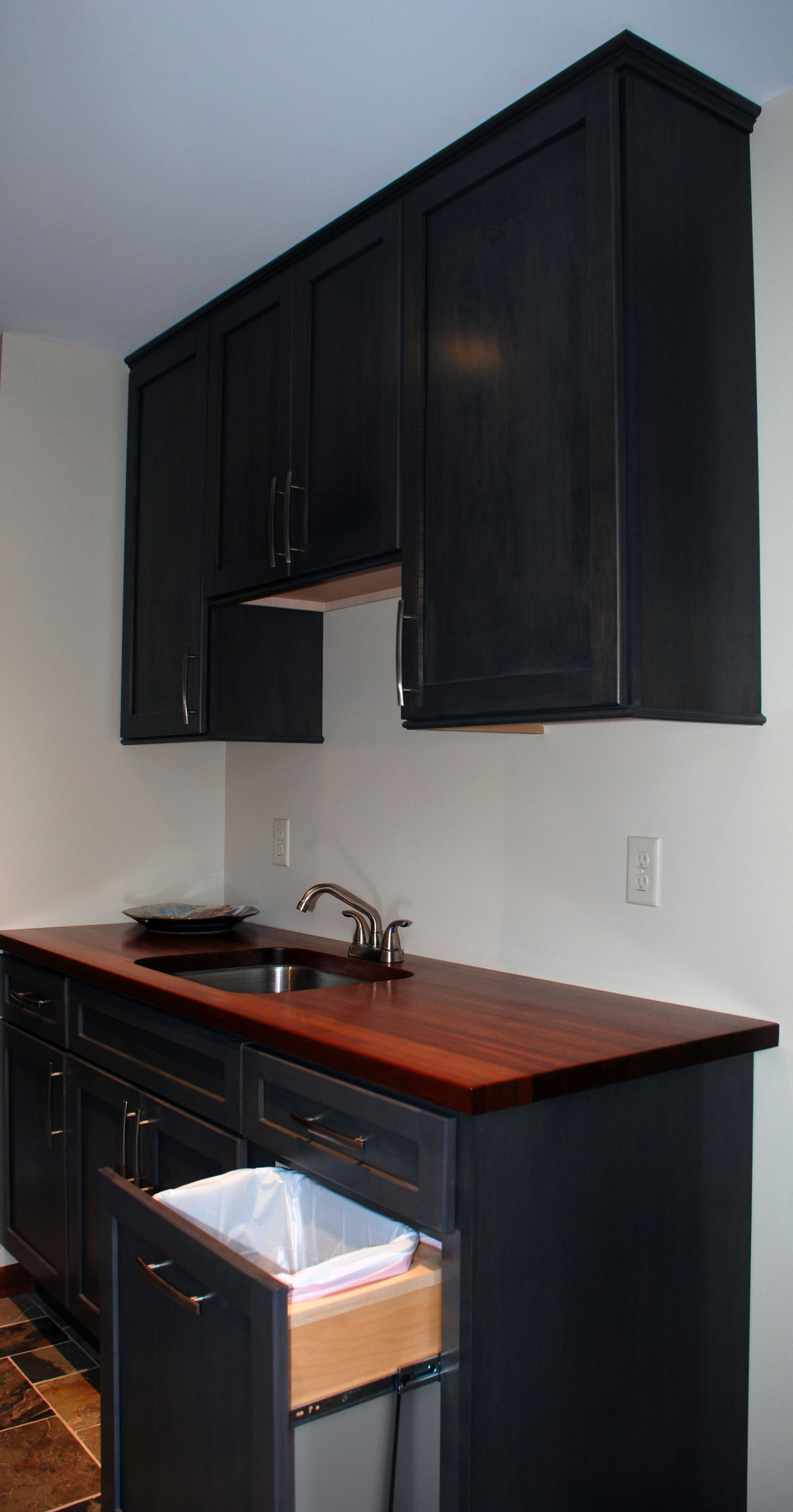 Stained Maple from Haas Cabinets