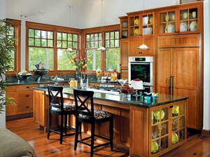 Use Custom Cabinets to Make Space in Your Kitchen