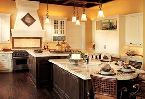 A Tuscan-inspired kitchen