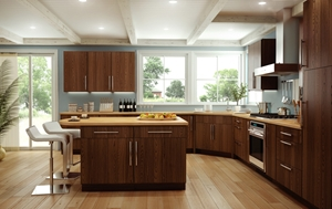 Colors that work with your dark cabinets
