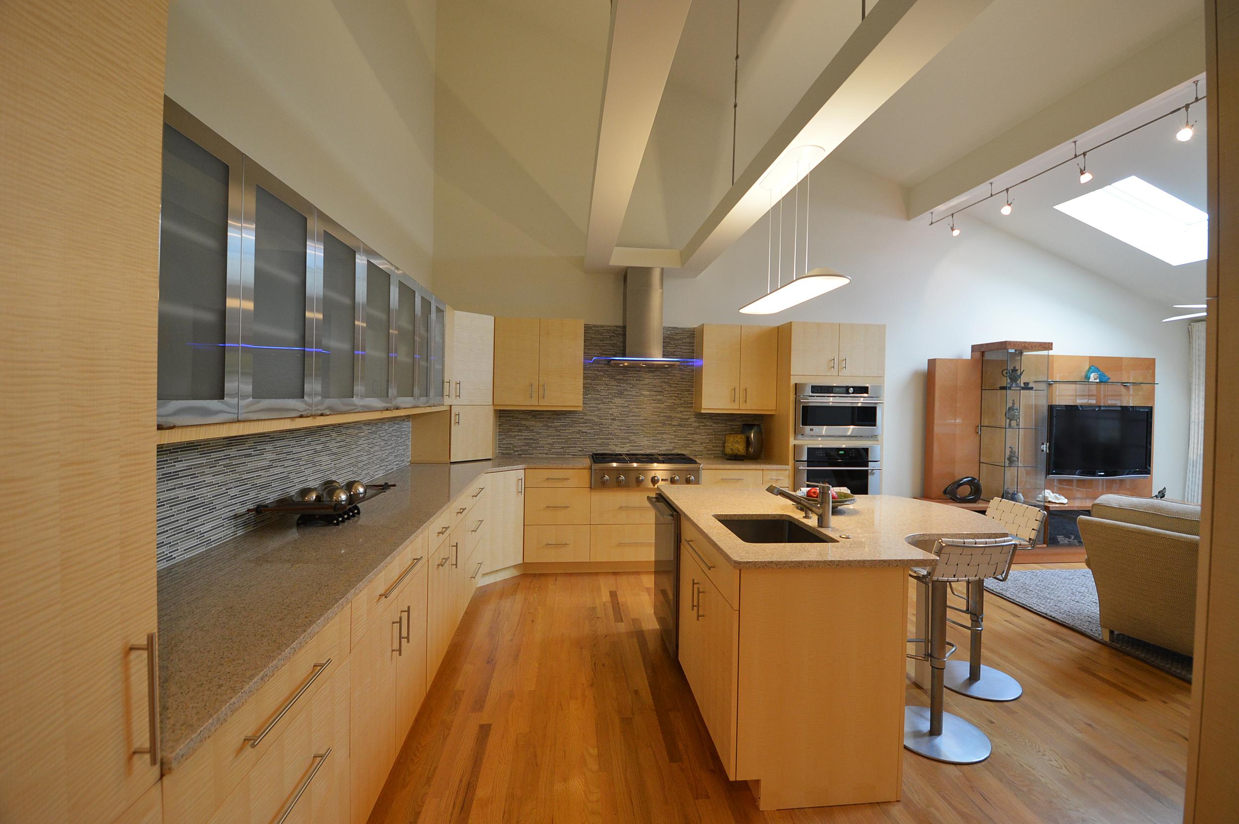 Stunning Contemporary Kitchen in Devon, PA