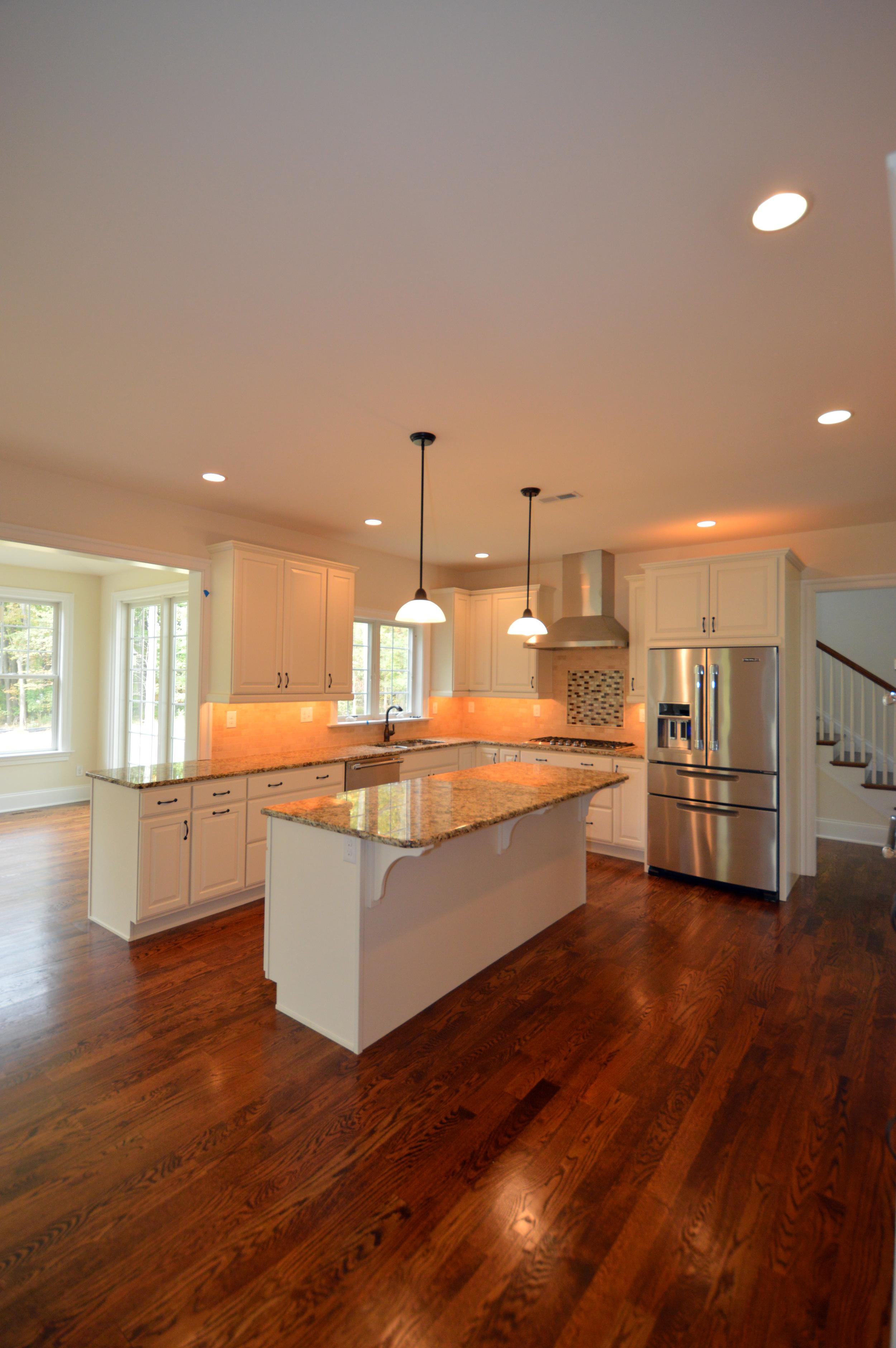 New construction custom home kitchen in Malvern, PA