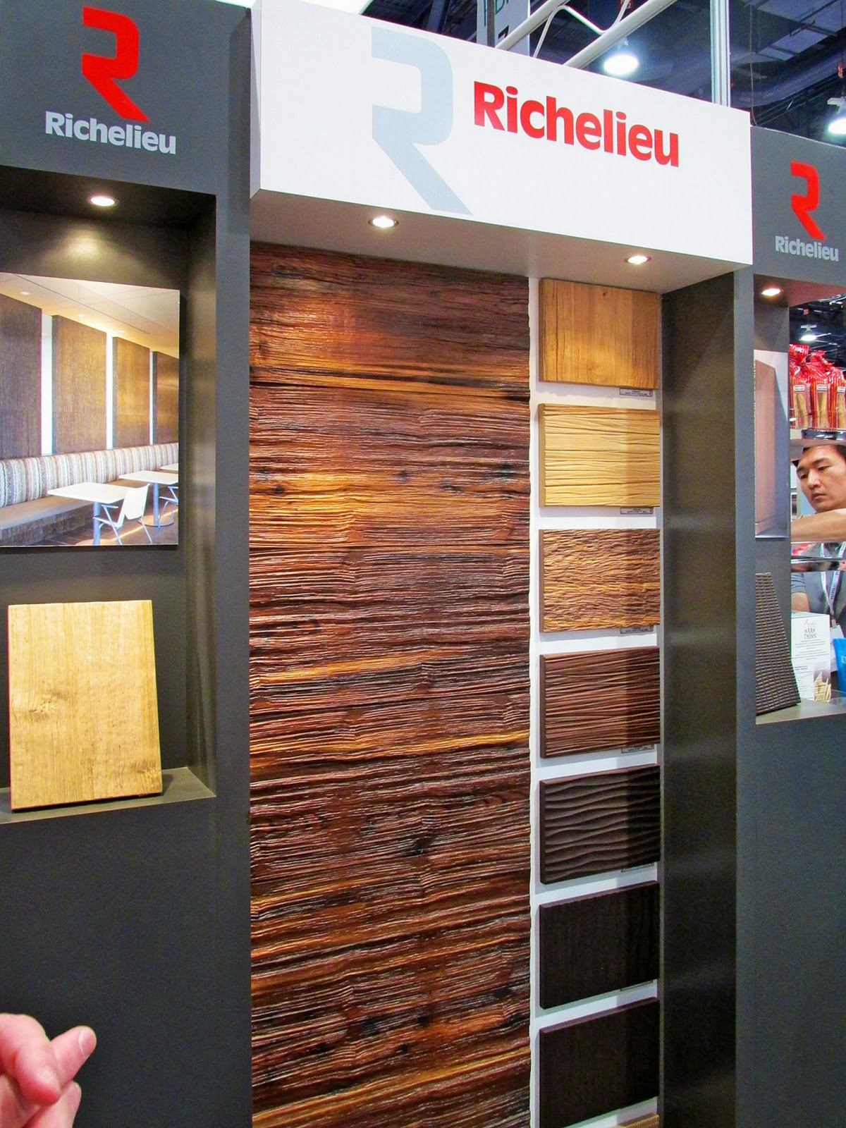 More textures, in a range from very realistic wood grains to purely artistic patterns.
