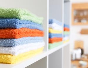 We love a tidy linen closet