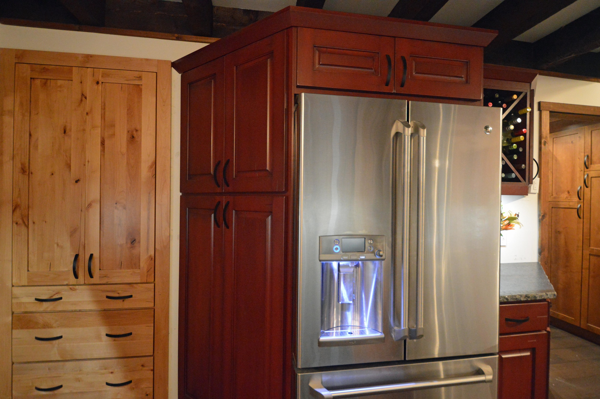 Rustic Cabin Kitchen Remodel near Lake George, NY