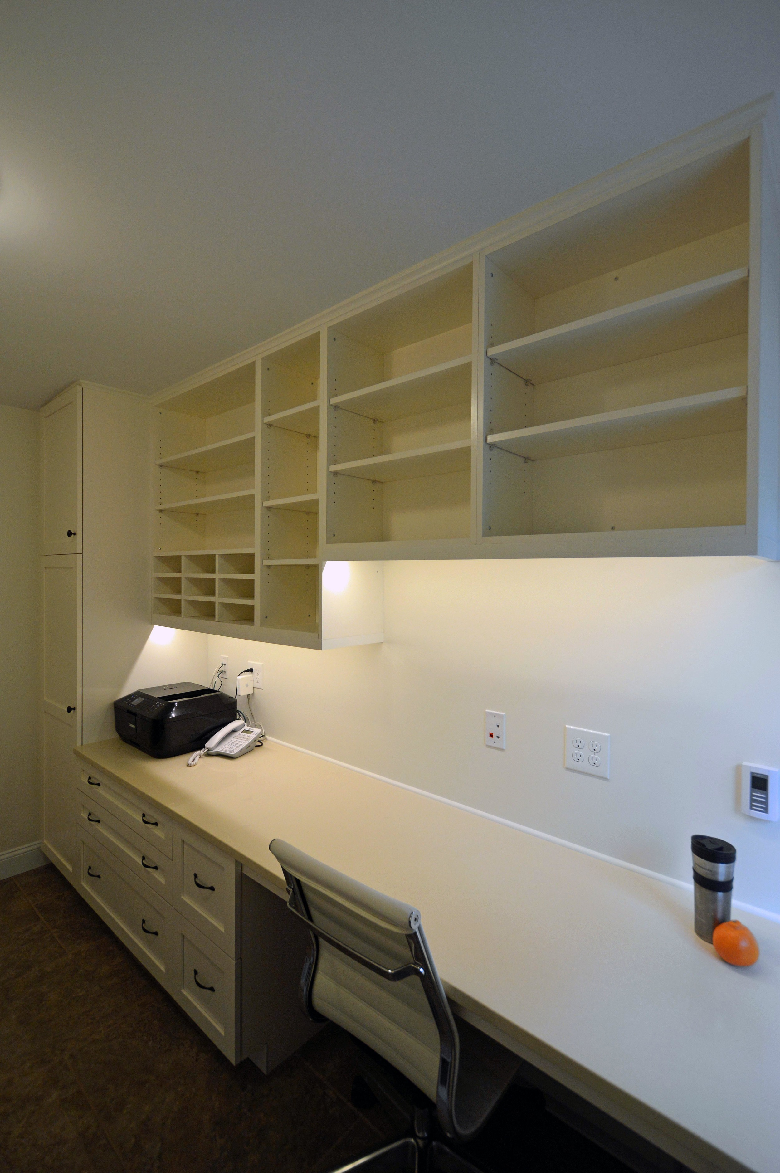 Custom home office and laundry room in Merion Station, PA