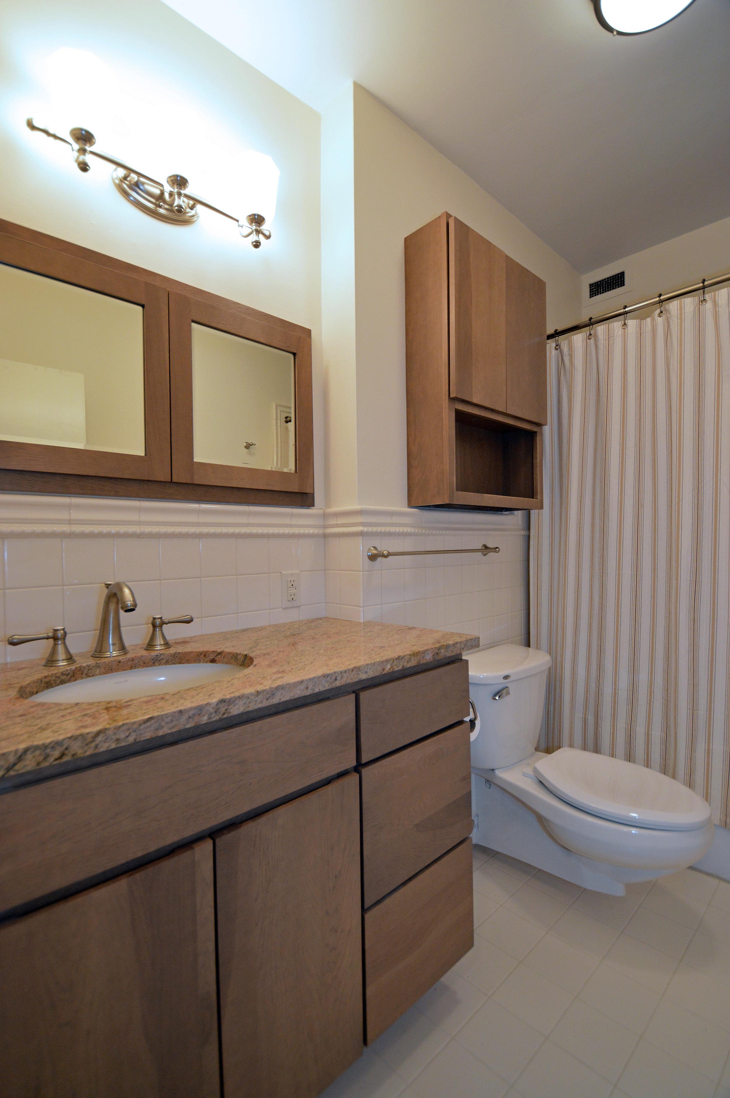 Condo bathroom renovation in Philadelphia, PA