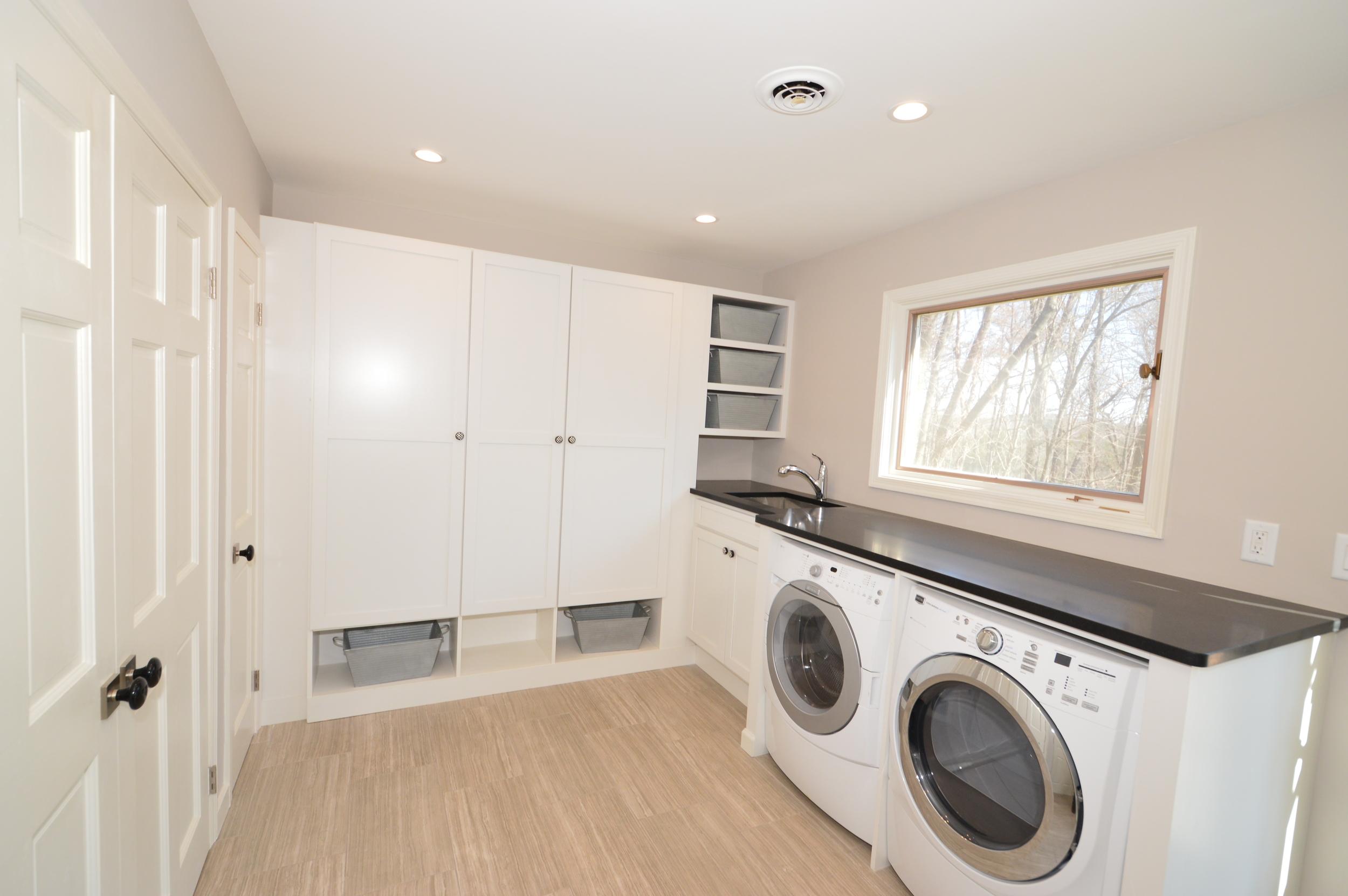 Laundry room renovation in Media, PA