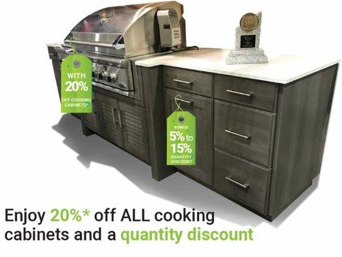 BACK TO SAVINGS SALE on Trex Outdoor Kitchens & NatureKast ...