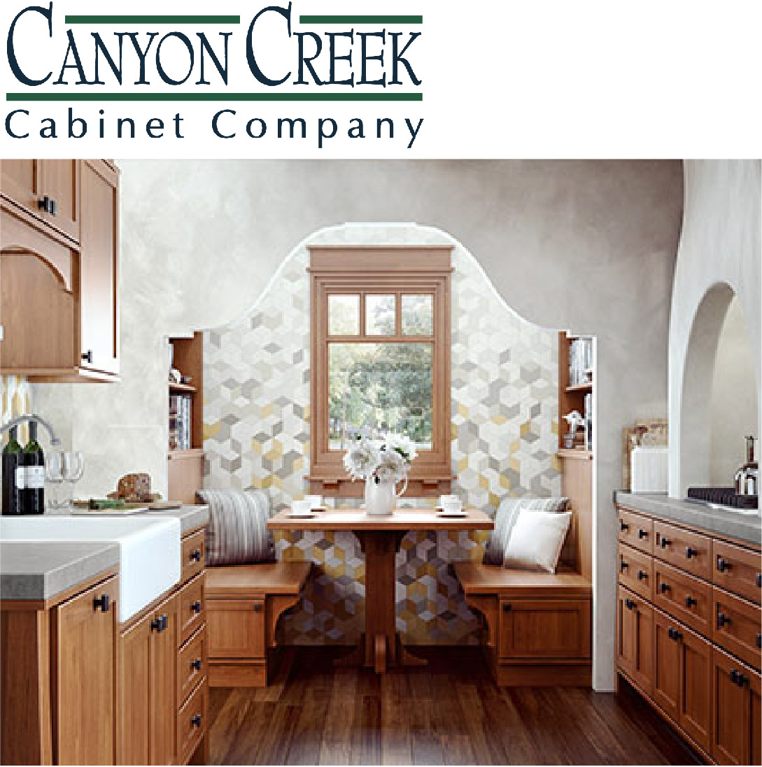 - Canyon Creek Cabinet Company is a leading manufacturer of affordable custom framed and frameless style cabinetry for any room in the home. Learn more about the wide variety of products that Canyon Creek makes for their discerning customers.