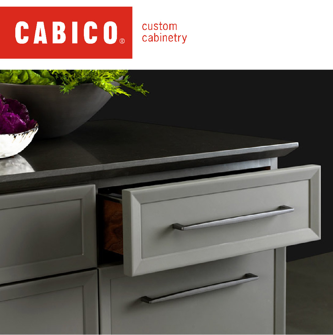 - Cabico believes the only way to make true custom cabinetry is to put a human touch on the entire design and manufacturing process. Learn more about Cabico's custom cabinetry.