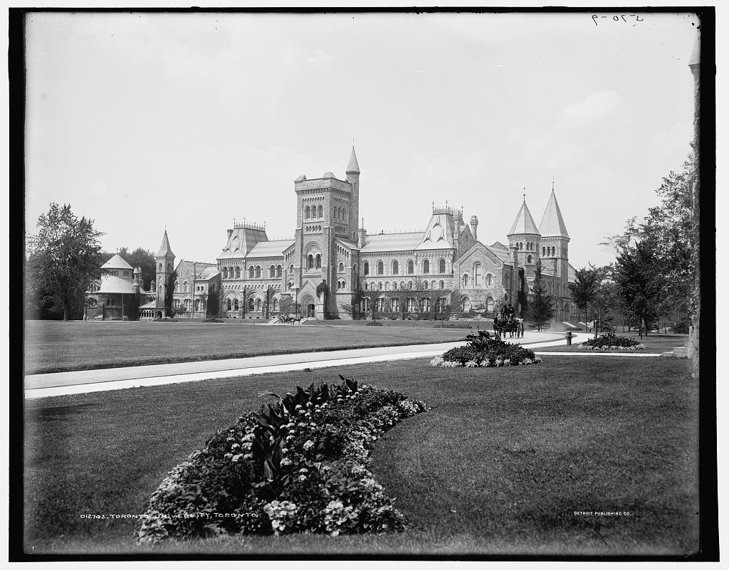 University of Toronto, 1890 (Library of Congress)