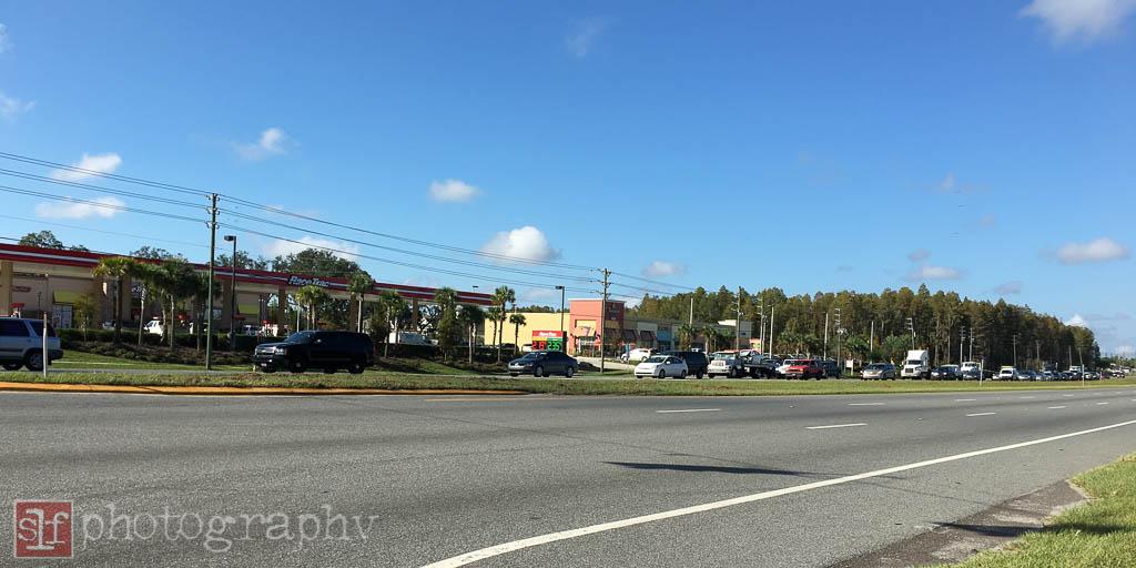 SW corner of Livingston and SR54 looking towards Panera