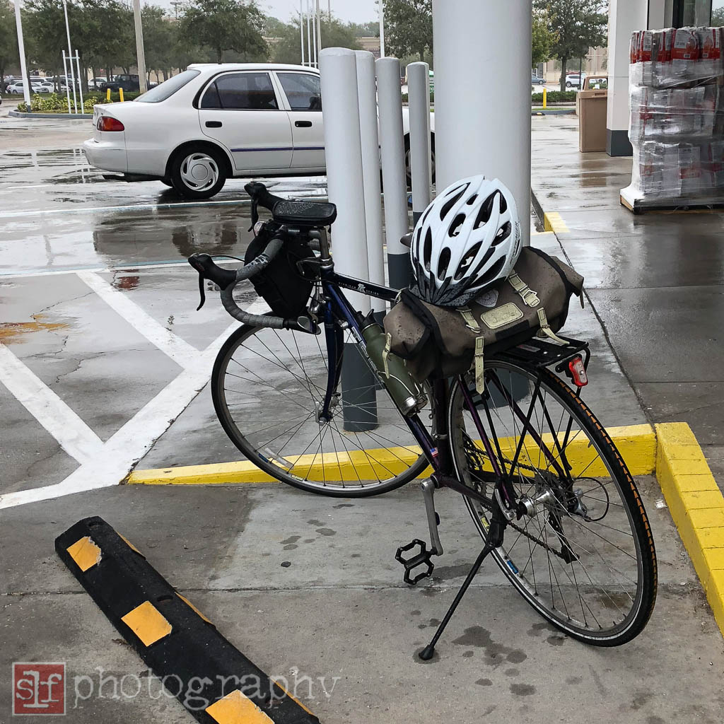 wet ride for coffeeneuring at shell