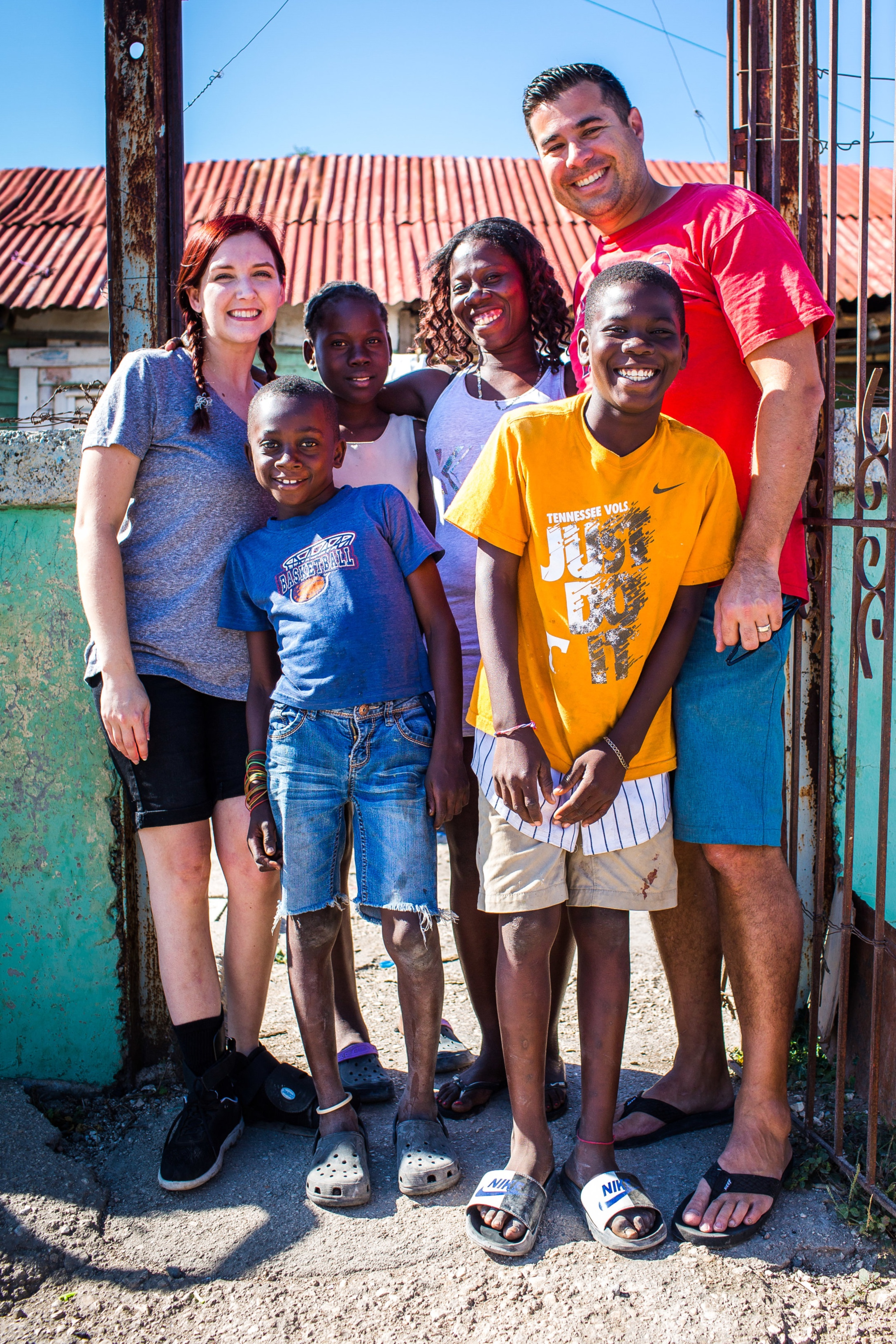 Being able to visit the Dominican Republic and meet Amaury and his family brought us much joy! Seeing where he lived and meeting the rest of his family helped us to know more about him and better ways to pray.  -Bobby and Danielle Brown