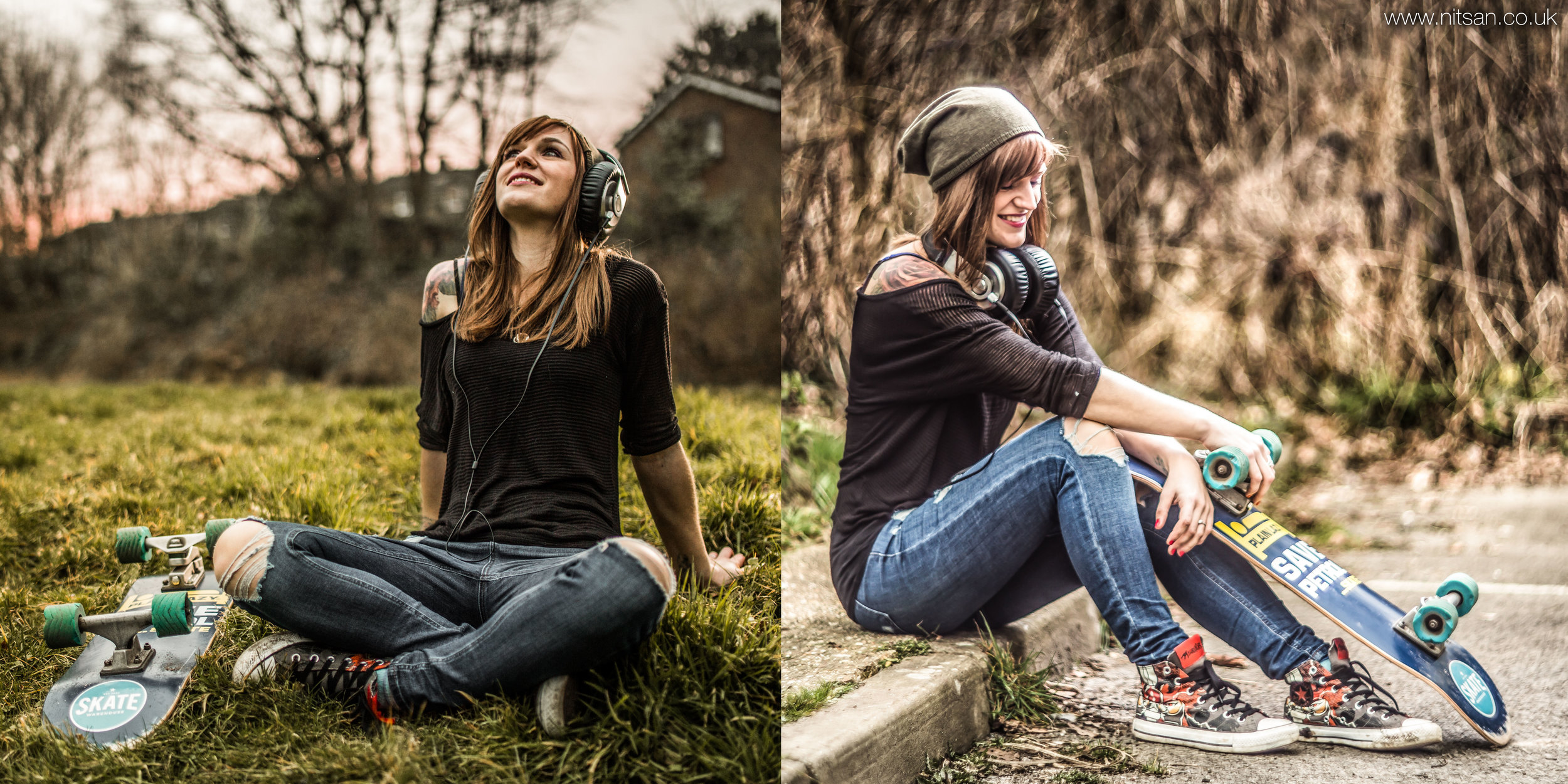 Left: 5D Mark III and Samyang 35mm. Right: 5D Mark III and Helios 85mm f1.5.