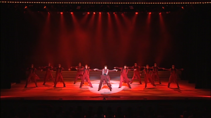 A fancy ending dance sequence featuring Miles Edgeworth.