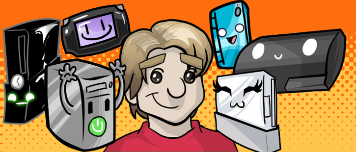 The original header for charlesalanratliff.com. Also used as the banner for Vito's Game Giveaway on Giantbomb.com. Done by Kat Smith (Turbo_Toaster).