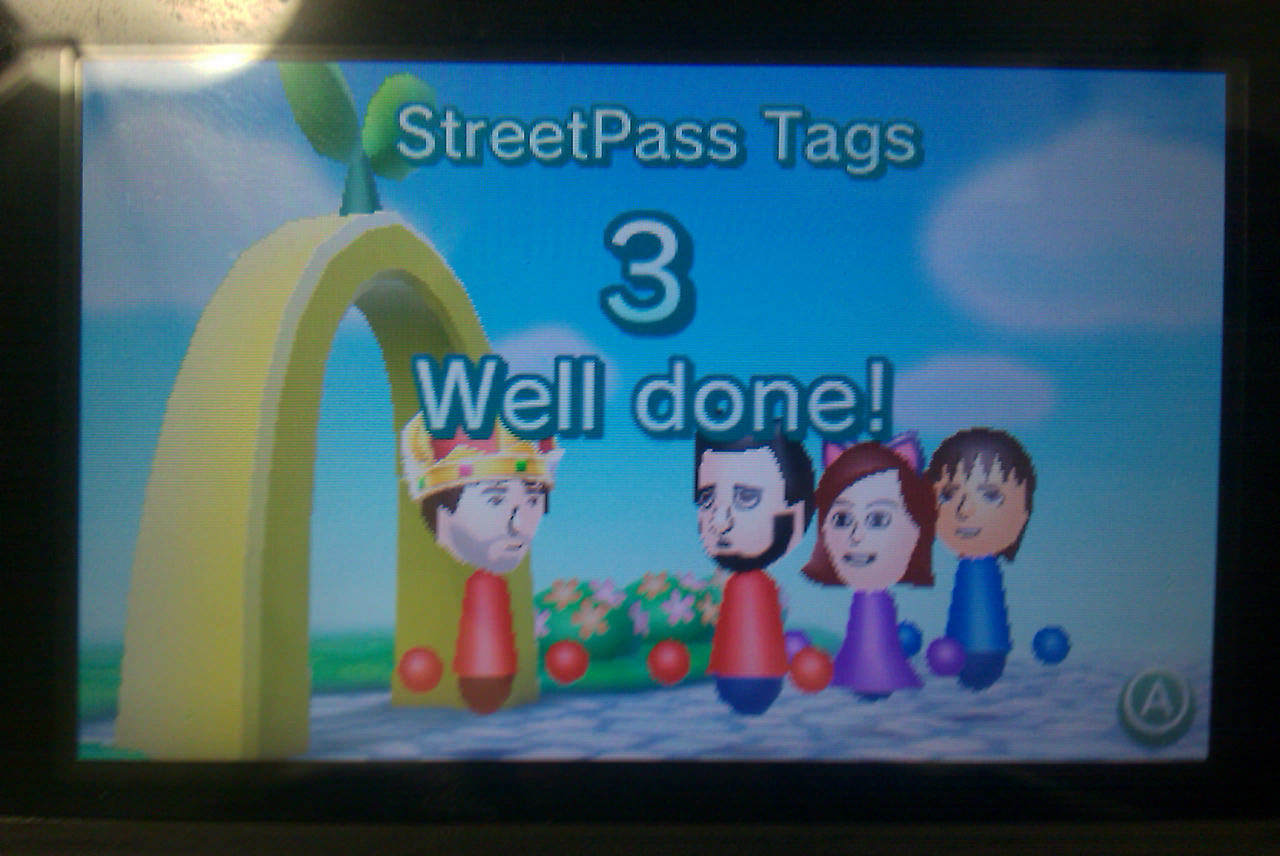 The three StreetPass encounters I had at the Smithsonian Institution National Museum of Natural History.