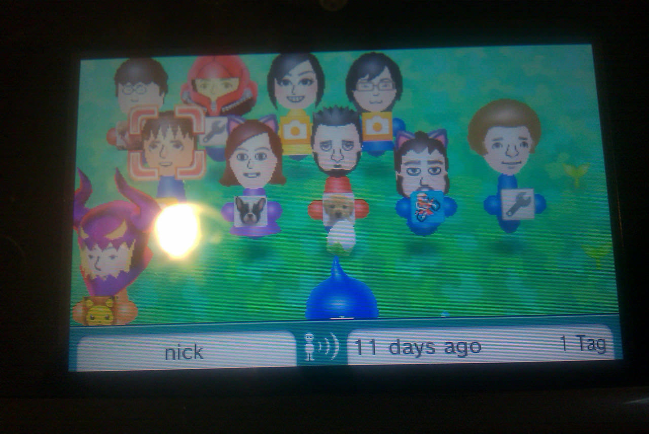 All the Miis I met up to that point.