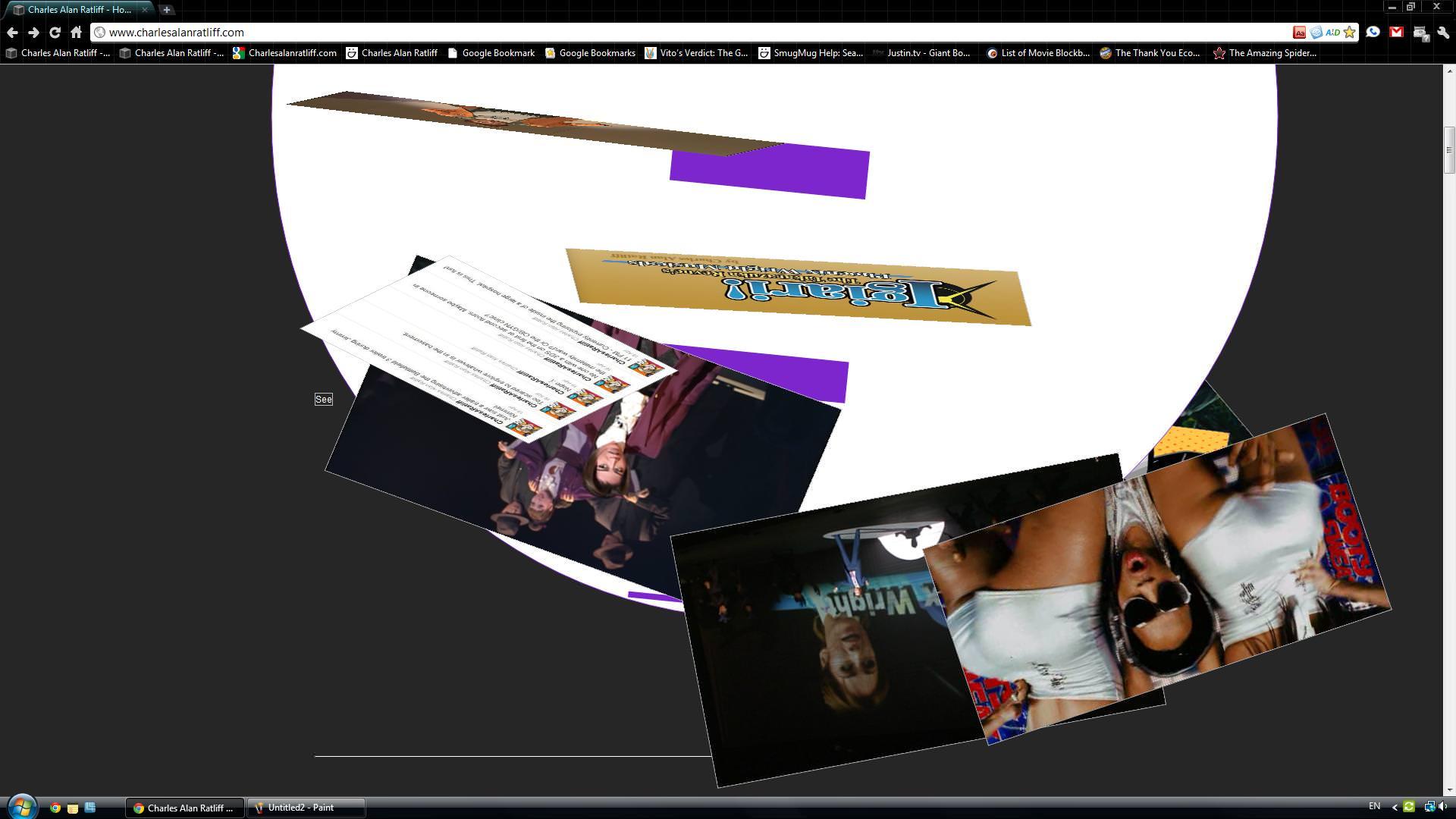 Using Katamari Hack on my site.