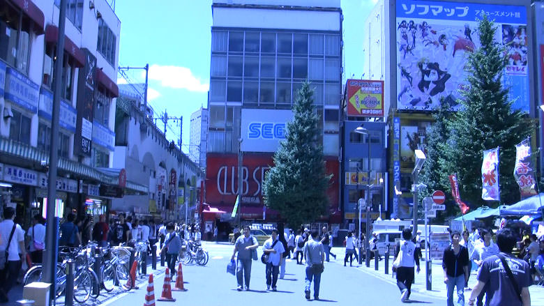 Club SEGA in Akihabara.