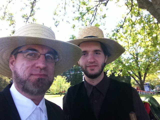 This is me playing an Amish dude in season 2 of Banshee.