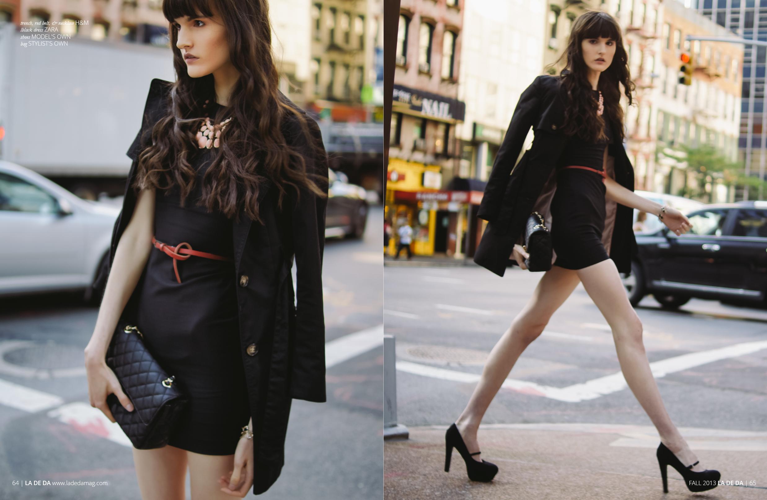 Alexandria Serafini shot by Brittanny Taylor for La De Da Magazine